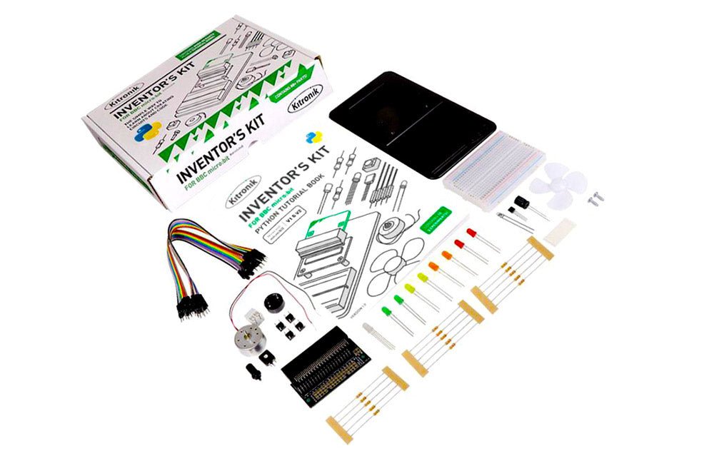 inventor's kit for microbit python version