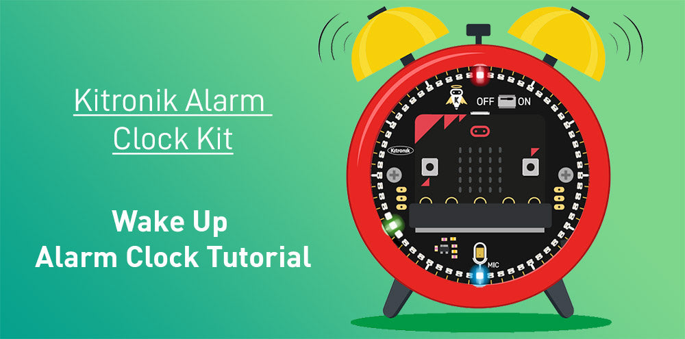 zip halo hd alarm clock kit for microbit wake up alarm clock