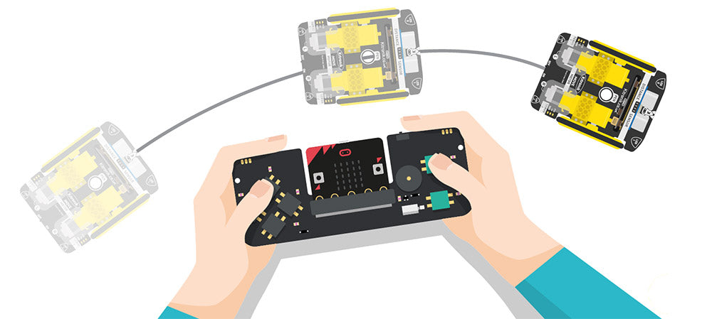 :MOVE Motor for microbit additional resources for radio remote control
