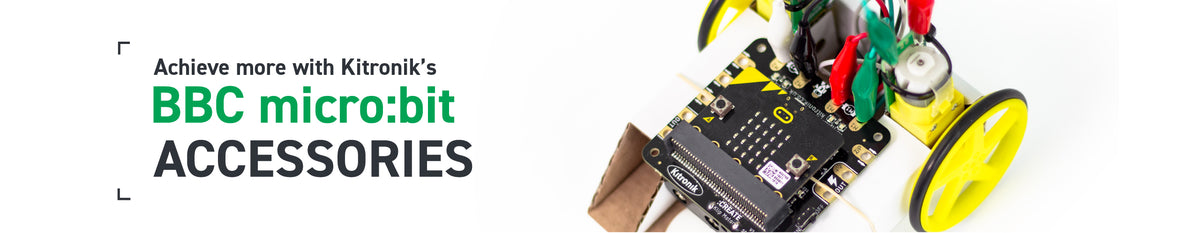 Achieve more with Kitronik's micro:bit accessories