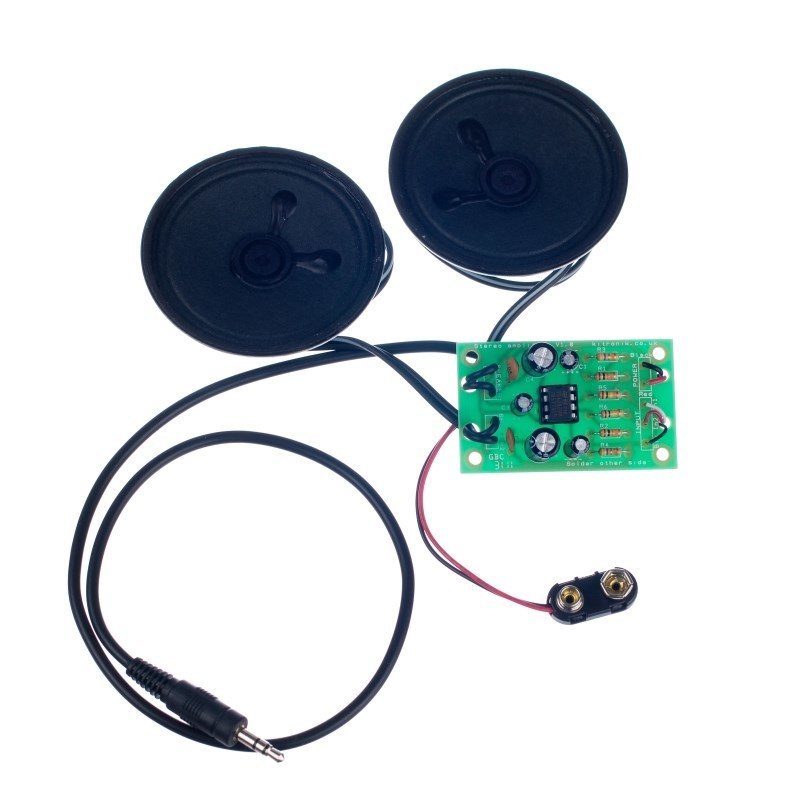 additional mp3 stereo amplifier kit retail built