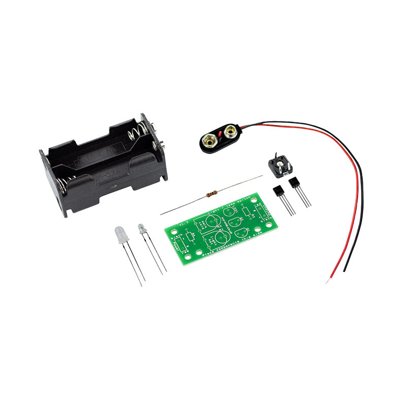 additional dark activated colour changing led kit parts