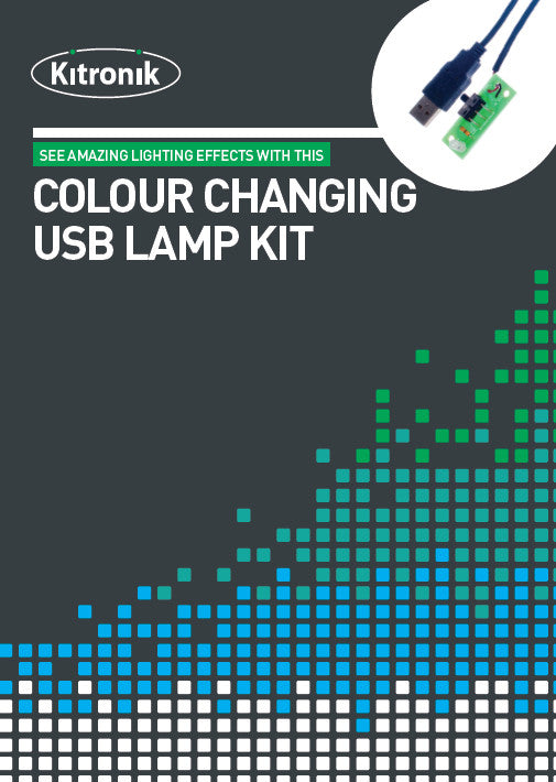 additional colour chaning usb lamp kit front