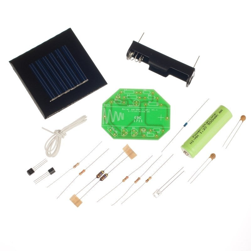 additional solar garden light kit parts
