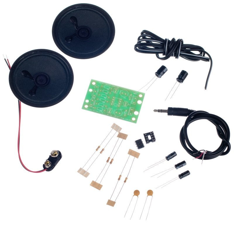 additional mp3 stereo amplifier kit parts