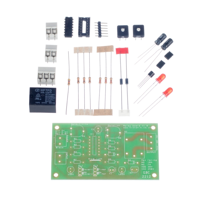 additional relay board kit parts