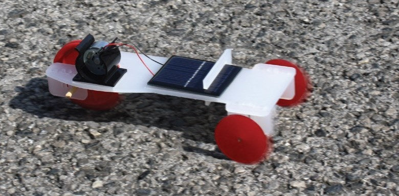 additional solar powered buggy motion
