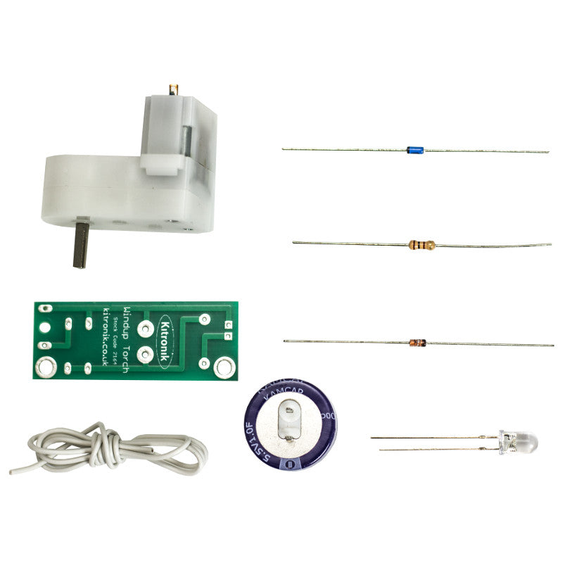 additional windup torch kit parts