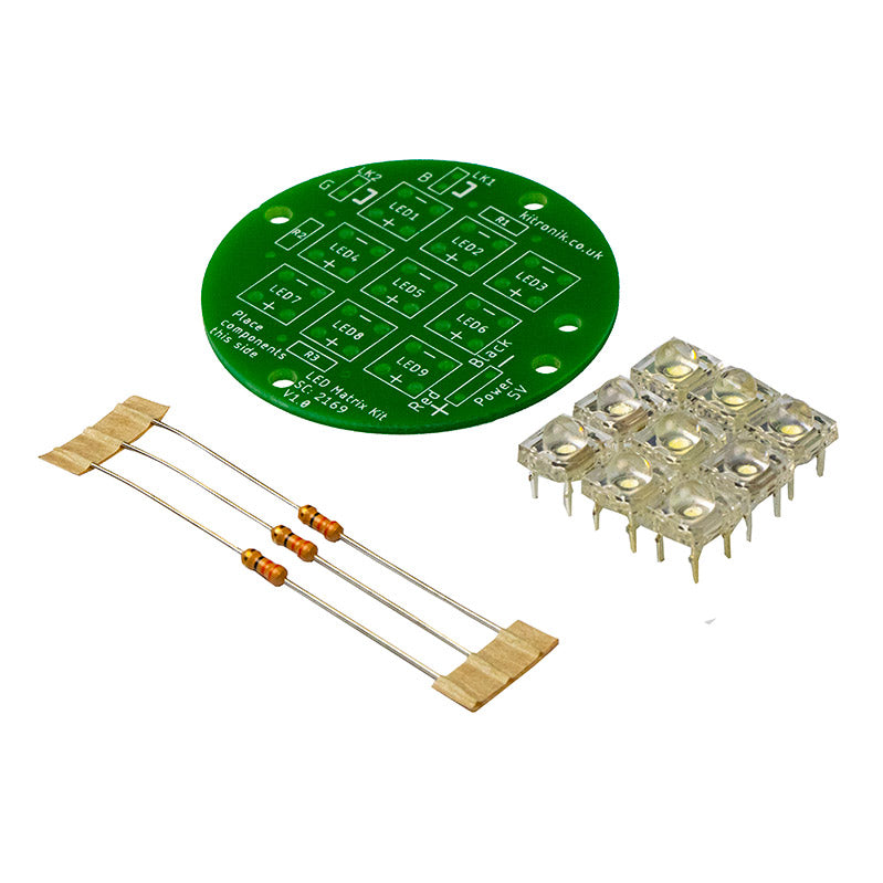 additional 1 5v round led matrix light kit