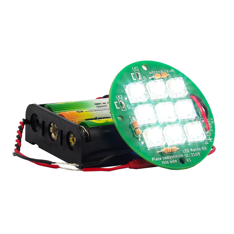 additional 3 5v round led matrix light kit