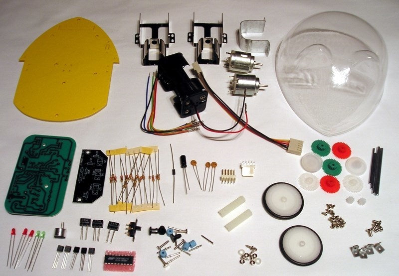 additional linetrack mouse kit parts