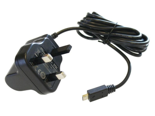 large 5v 1a micro usb uk mains wall power supply