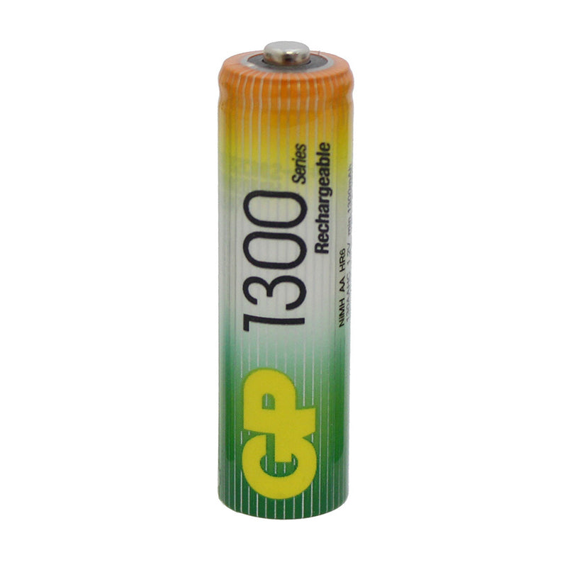 large rechargeable aa battery 1300mah