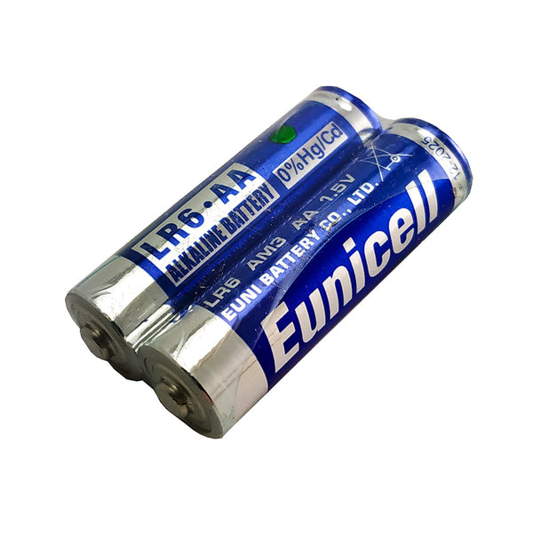 Eunicell AA Alkaline Batteries 2pk shrink wrap