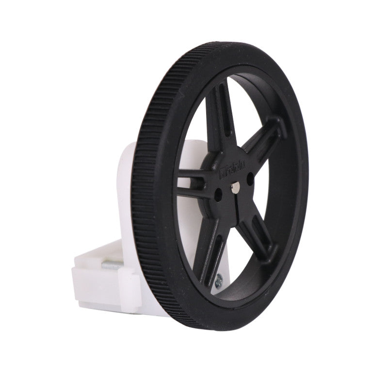 additional black wheels pair for 3mm d shaft mounted