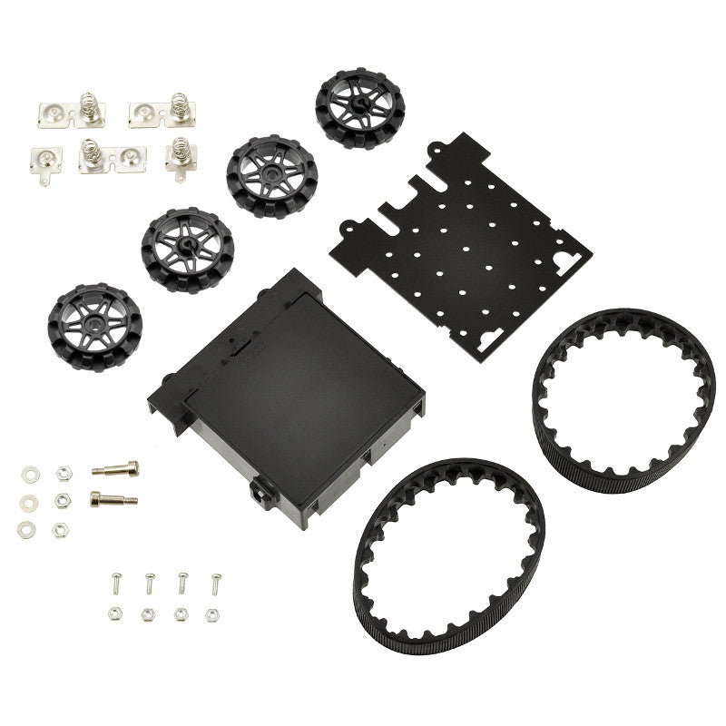 additional zumo chassis kit no motors parts