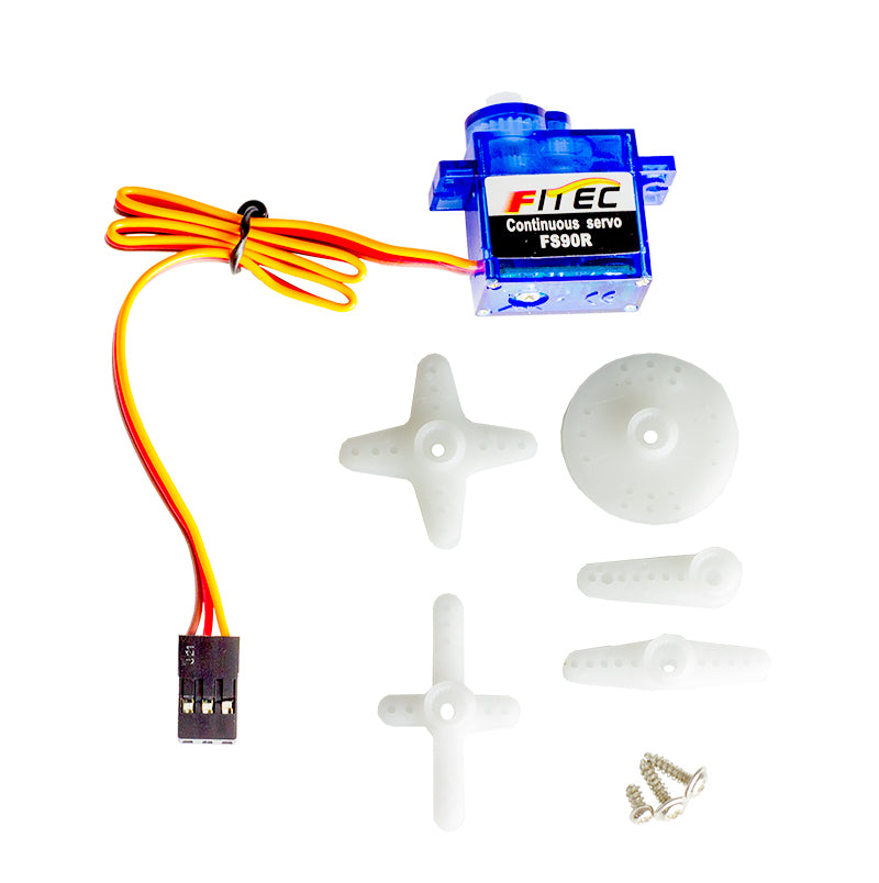 additional 1 feetech FS90R 360 degree continuous rotation servo parts