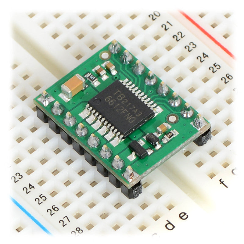additional tb6612fng dual motor driver carrier breadboard