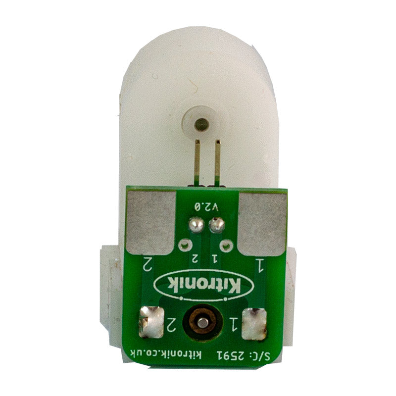 additional white gearmotor solderless d shaft rear