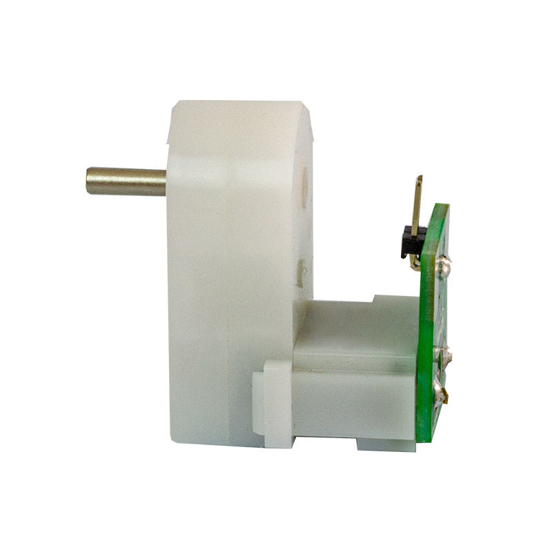 additional white gearmotor solderless d shaft side