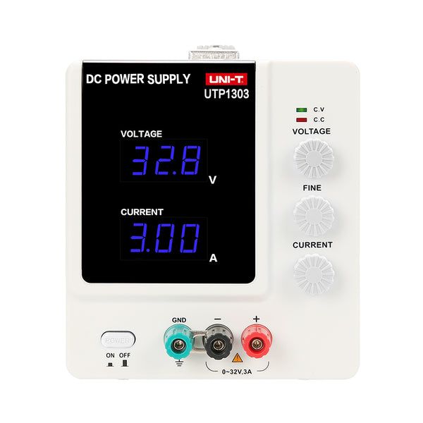 large utp1303 single channel variable output power supply