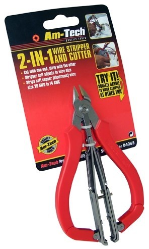additional wire strippers cutters packaged