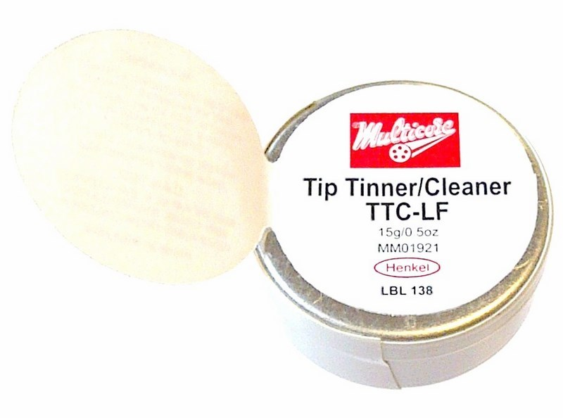 large multicore tip tinner and cleaner