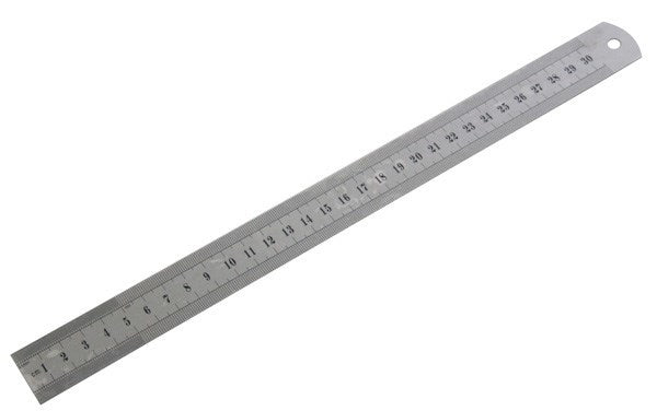 large 12 inch steel rule