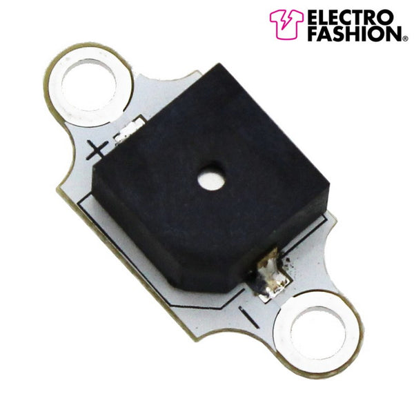 large electro fashion sewable buzzer