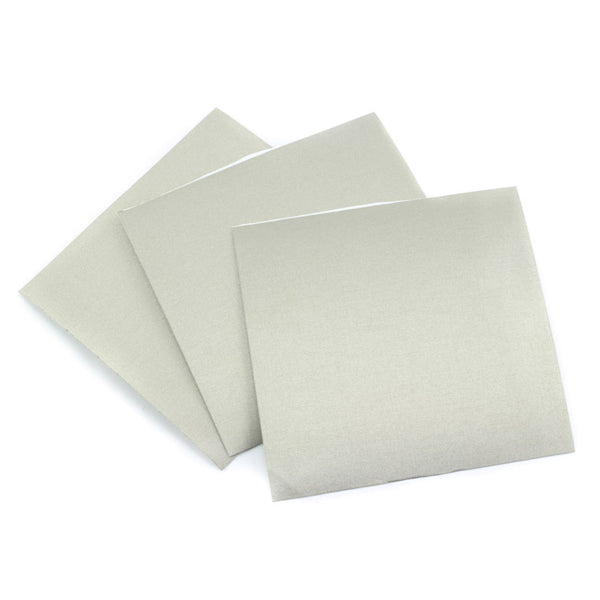 Nylon Fabric Squares with Conductive Adhesive 10cm x 10cm - 3 pk front