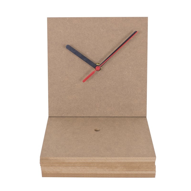 10 large square clock face
