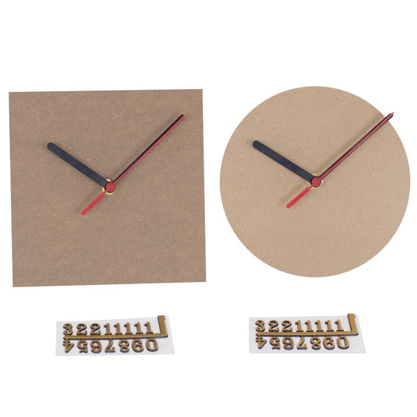 a large build a clock kit