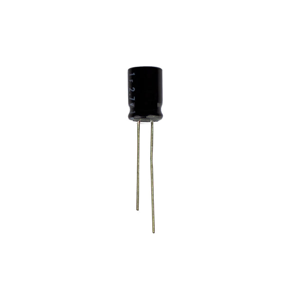 1F Super capacitor, 6.3mm dia, 2.7V