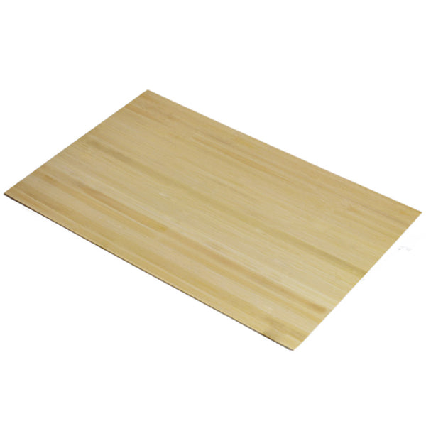 5mm Bamboo Plain Pressed Natural 600mm x 400mm Sheet