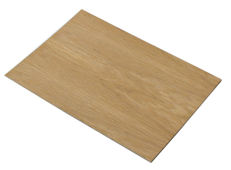 3.6mm Oak veneered plywood 400mm x 300mm sheet