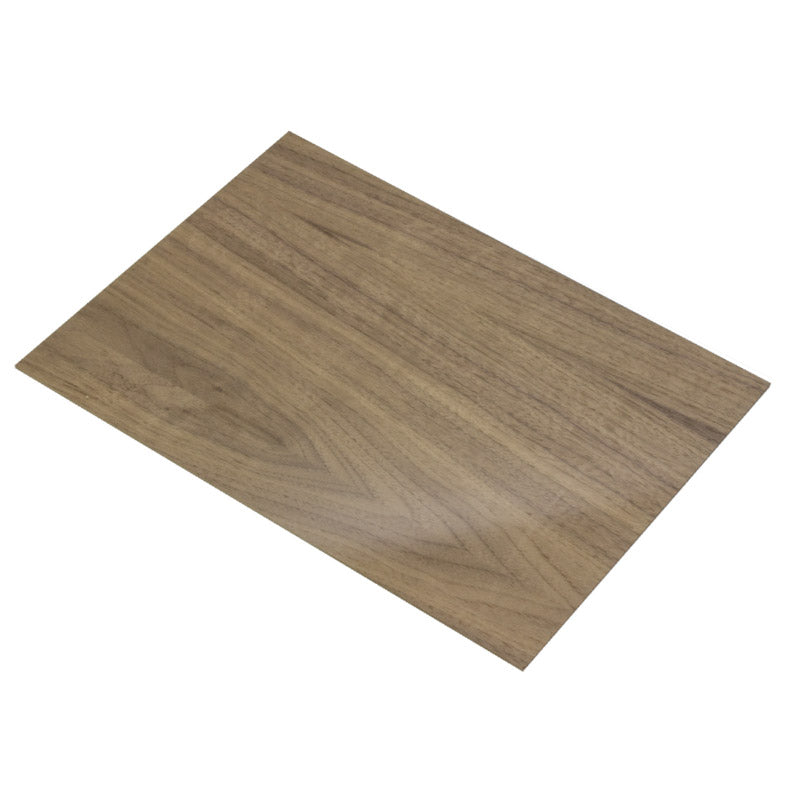 4mm American Black Walnut Veneered MDF 800mm x 600mm Sheet
