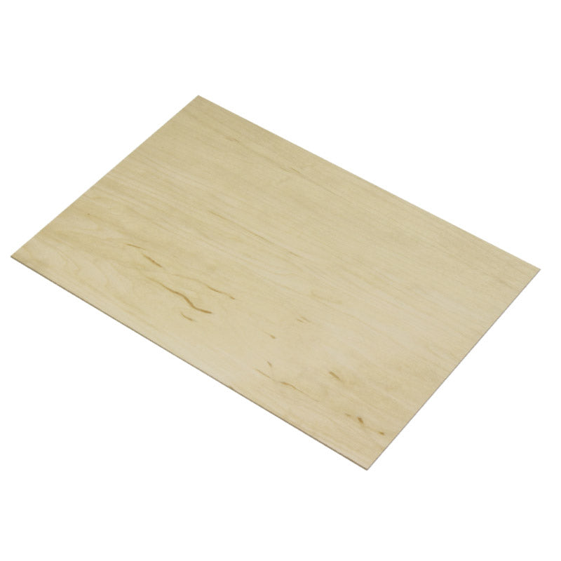 4mm American Maple Veneered MDF 800mm x 600mm Sheet