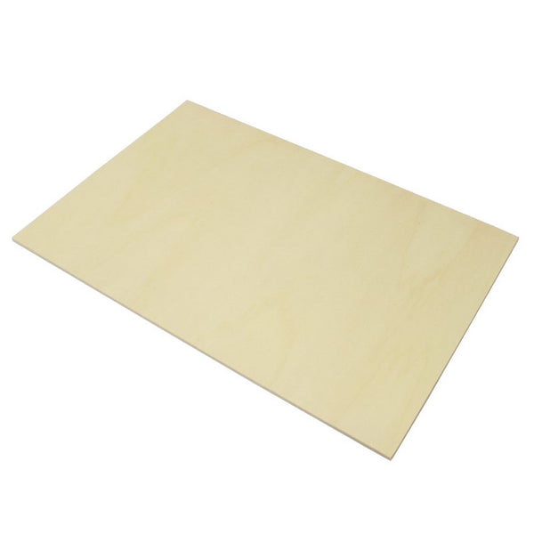 4mm Poplar Laser Plywood (laserply), 800mm x 600mm sheet