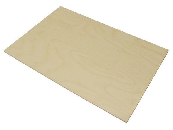 large 3mm br grade birch laser plywood 600mm x 400mm sheet (laserply)