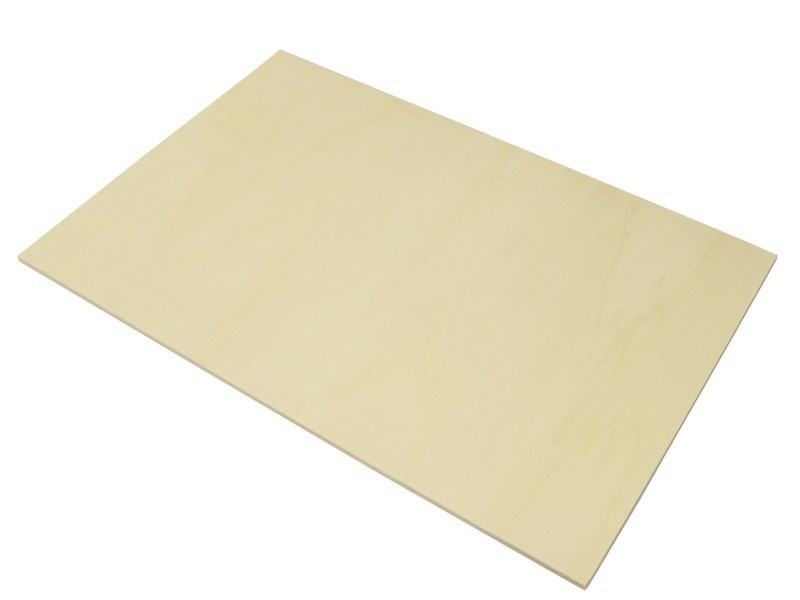 large 3mm poplar laser plywood 600mm 300mm