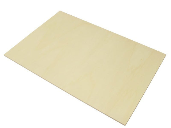 large 6mm poplar laser plywood 600mm 300mm