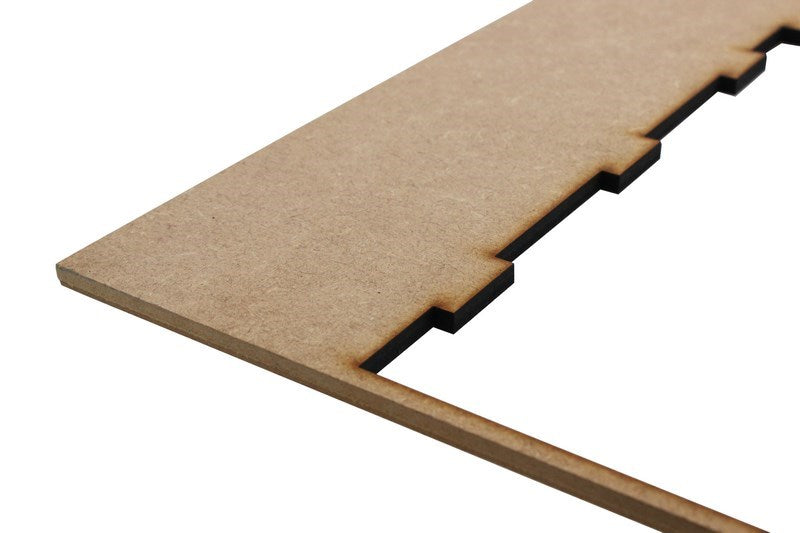 additional 6mm laser grade mdf 400mm 300mm example