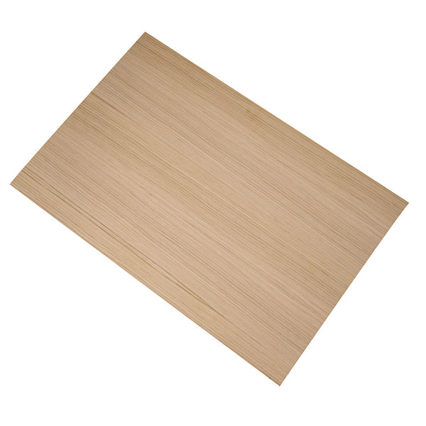 large 15mm x 600mm x 400mm oak veneered okoume plywood