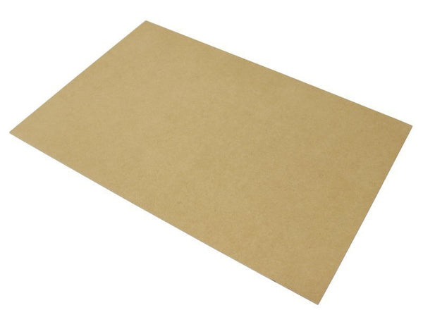 Medite MDF Lazer Board A4 Size 3 x Sheets 3mm Thick x 297mm Long x 210mm Wide 1s