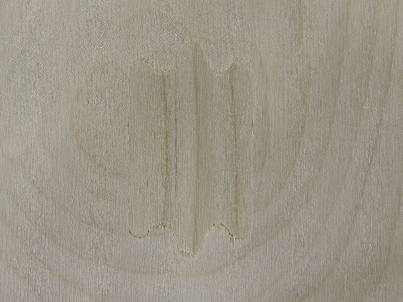 additional 3mm laser birch plywood 300mm 200mm patch (laserply)
