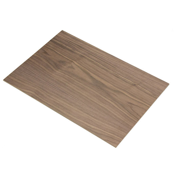 large black american walnut veneered mdf 4mm 600mm 400mm