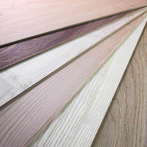 large 4mm veneered mdf sample pack 600mm x 400mm oak ash cherry walnut beech maple