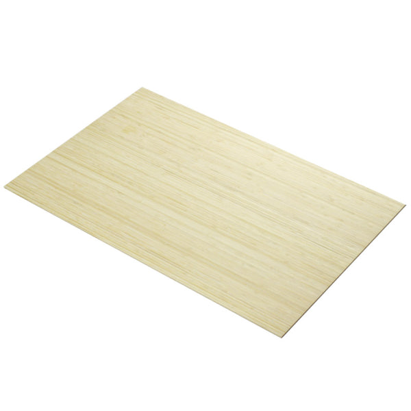 5mm Bamboo Side Pressed Natural 600 x 400mm sheet