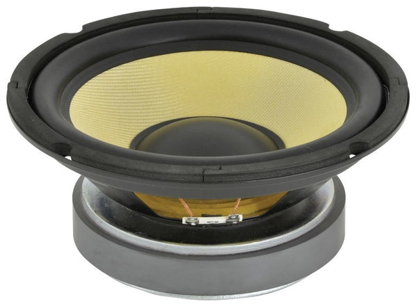large 250w 8 ohm 200mm kevlar cone woofer
