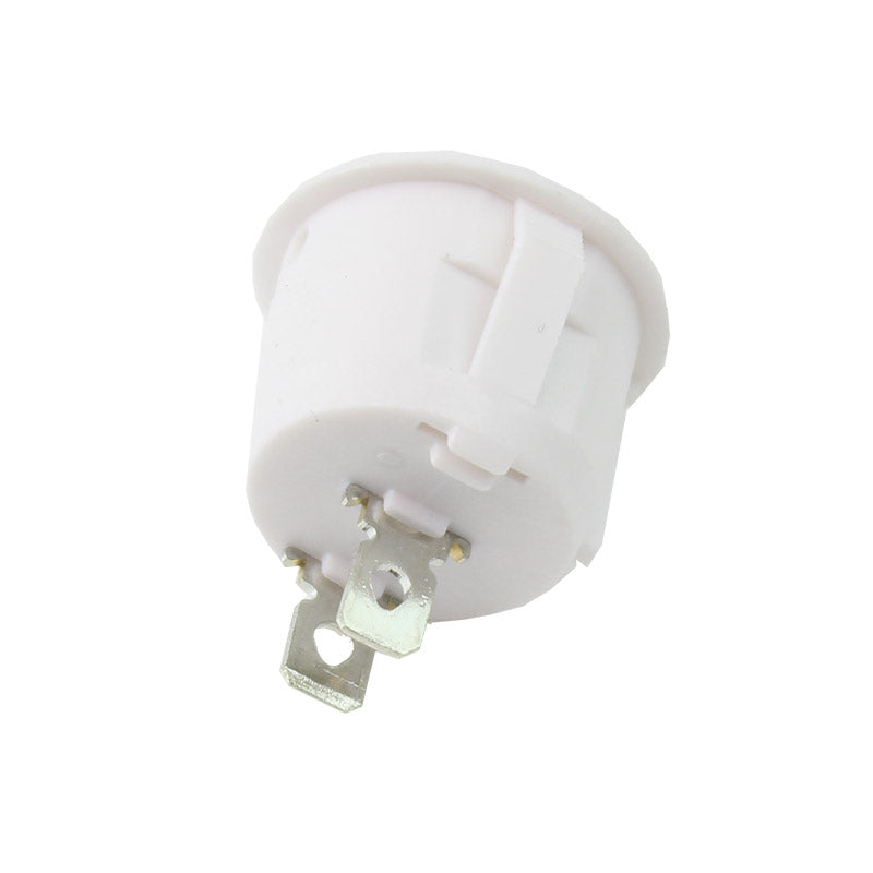 additional round white rocker switch spst on off snap in 10 pack